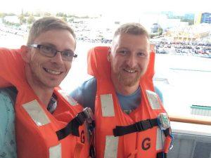lifejacket selfie