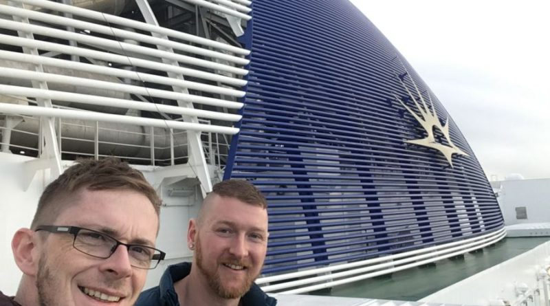Gav & Luke on P&O Azura