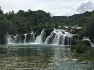 Waterfall at Krka
