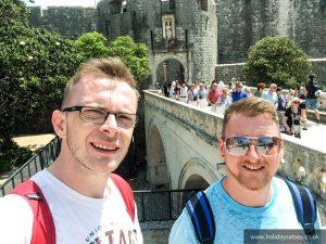 Gavin & Luke in Dubrovnik
