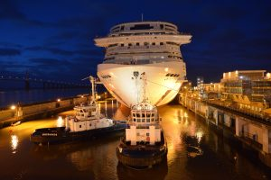 MSC Bellissima First loat out