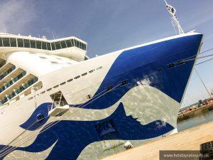 ROyal Princess Docked in Southampton