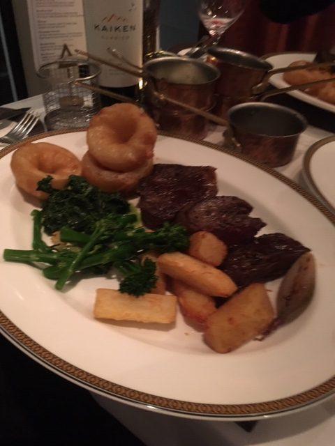 Cunard Queen Mary 2 Steak House