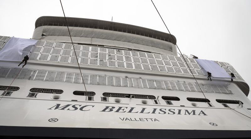 14 June 2018 The Float-out of MSC Bellissima