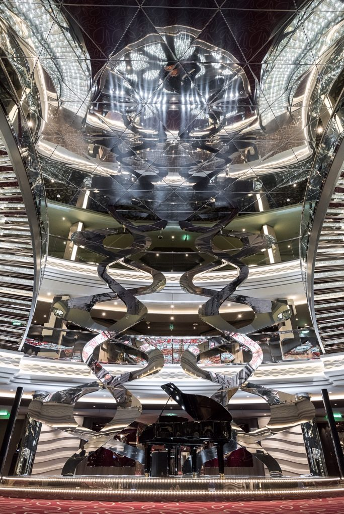 MSC Infinity Atrium