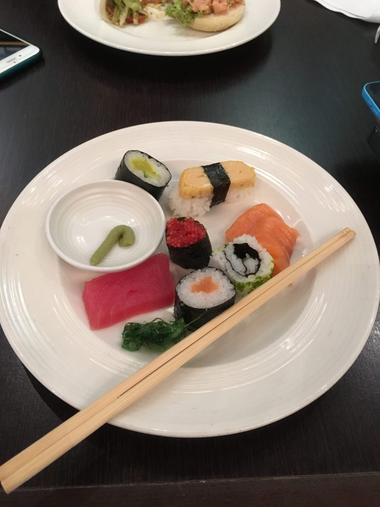 Queen Mary 2 - Kings Court Sushi