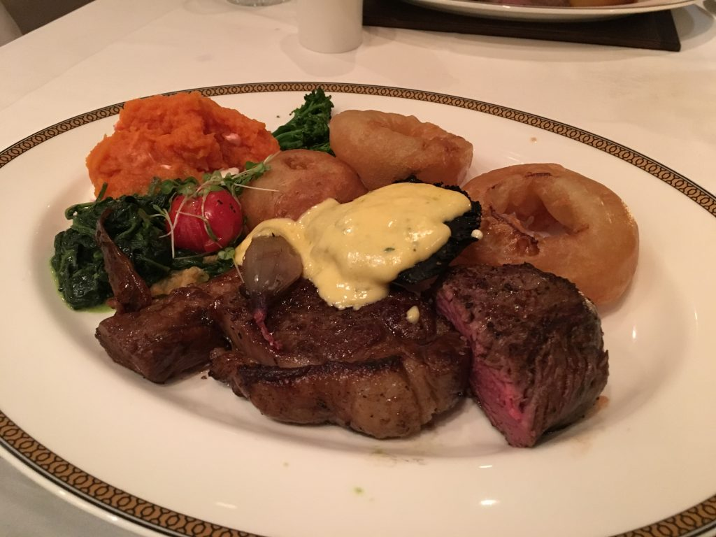 Queen Mary 2 - Steak House