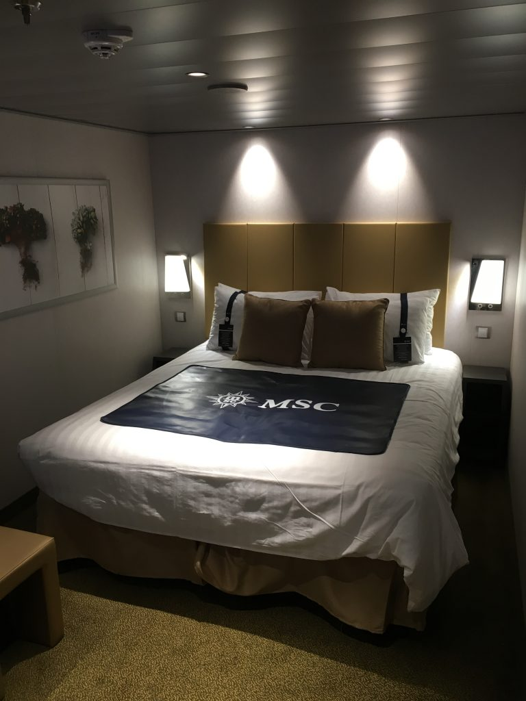 MSC Bellissima Inside (Double Bed)