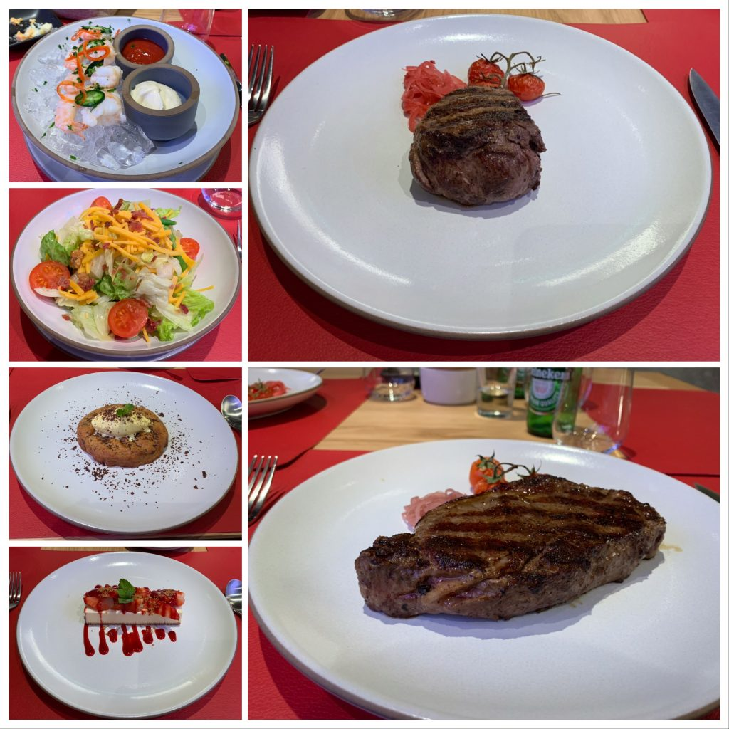 Selection of dishes from Butchers Cut