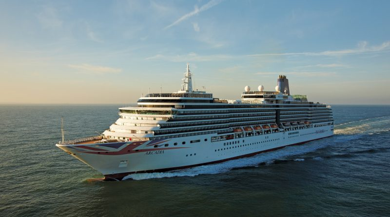 Arcadia at Sea © P&O Cruises