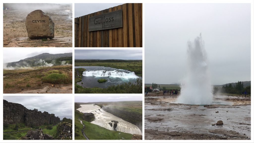 Golden Circle tour for Cruise ships from Reykjavik