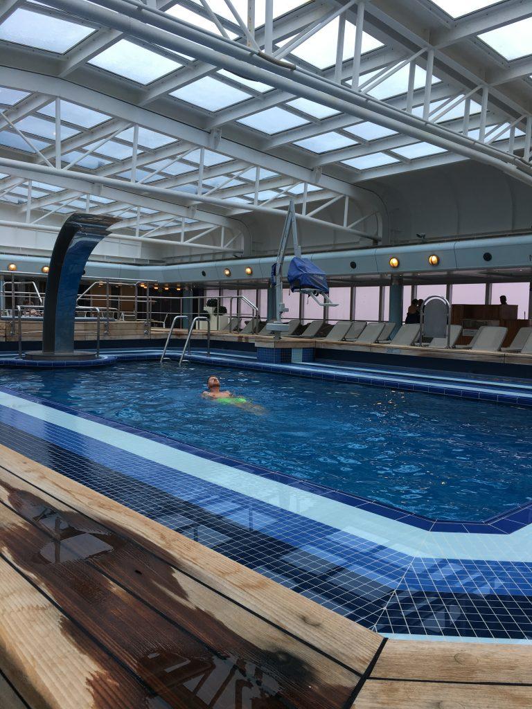 P&O Arcadia's covered Pool