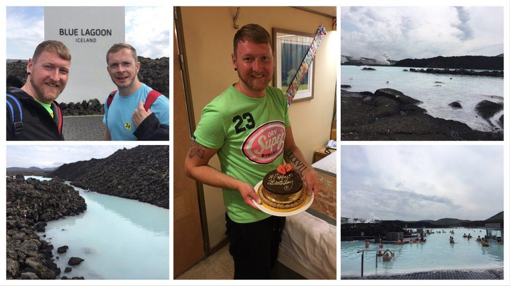 Luke's Birthday and Blue Lagoon excursion
