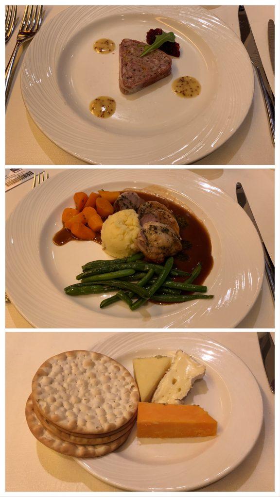 Main Dining Room Food