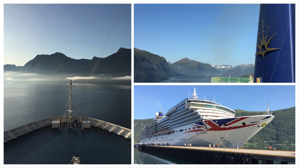 P&O Arcadia in Andalsnes