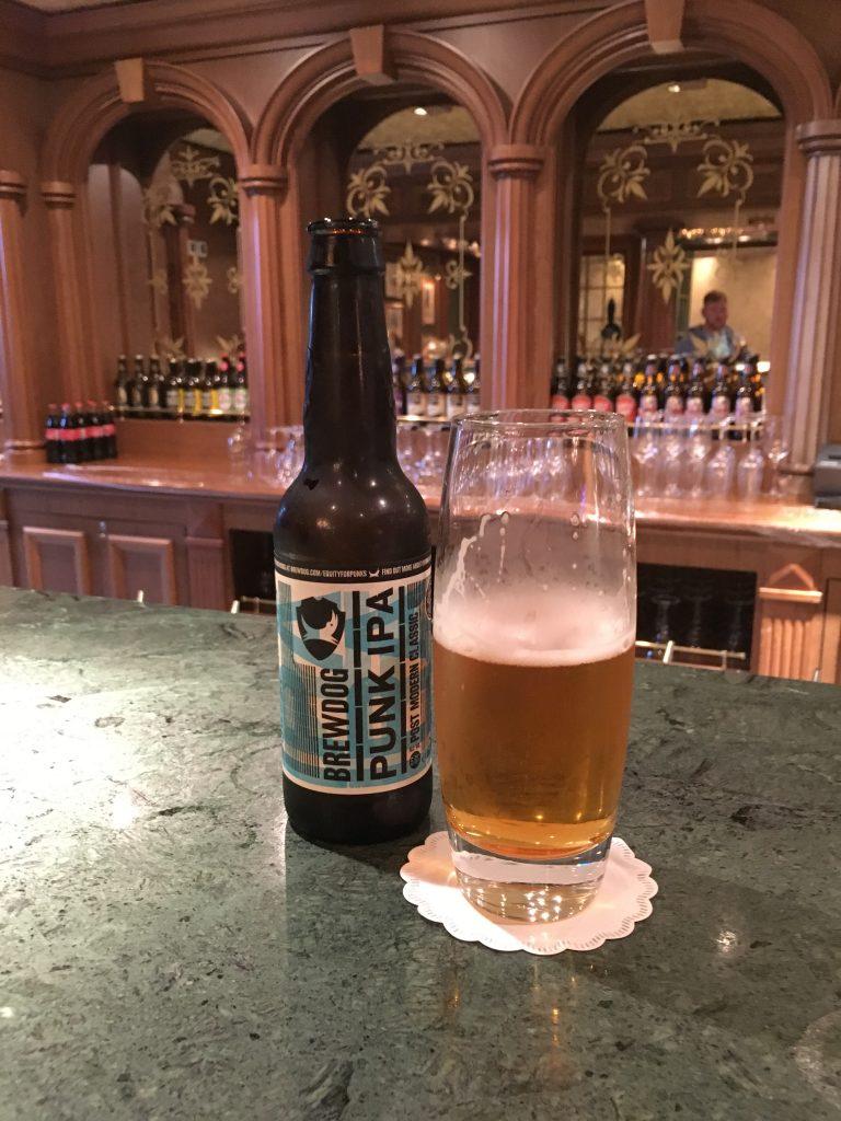 Beer at the Rising Sun Pub