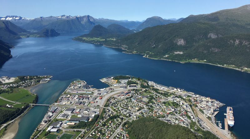 View of Andalsnes