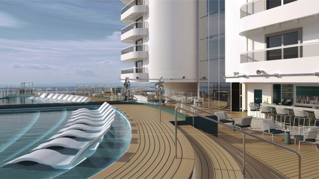 MSC Seashore, Infinity Pool